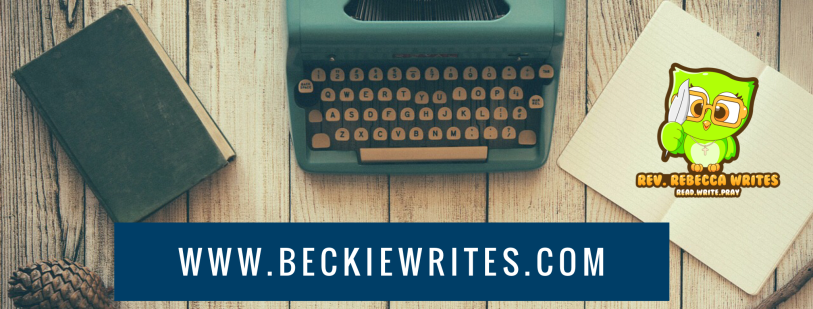An image reads BeckieWrites.com and shows a green owl logo