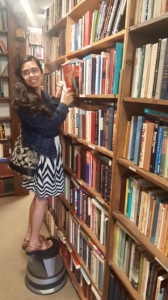 me with books