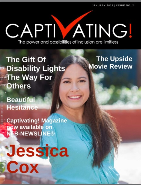 """The January edition of Captivating reads, """"The Gift of Disability Lights the Way for Others"""""""