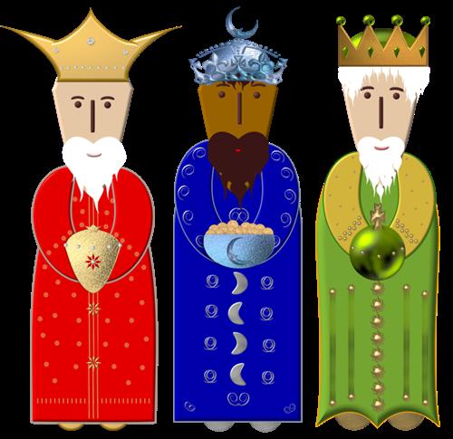 three wise men free clipart