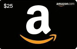 image shows an amazon gift card