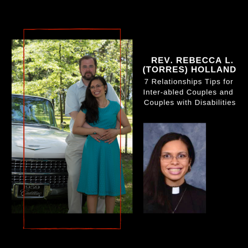 A meme shows an author photo of Rev. Rebecca and