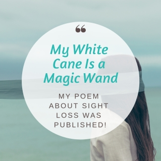 My White Cane Is a Magic Wand