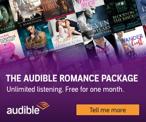 audible romance package banner