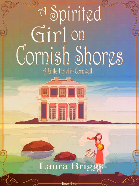 Image: The cover for the book, A Spirited Girl on Cornish Shores