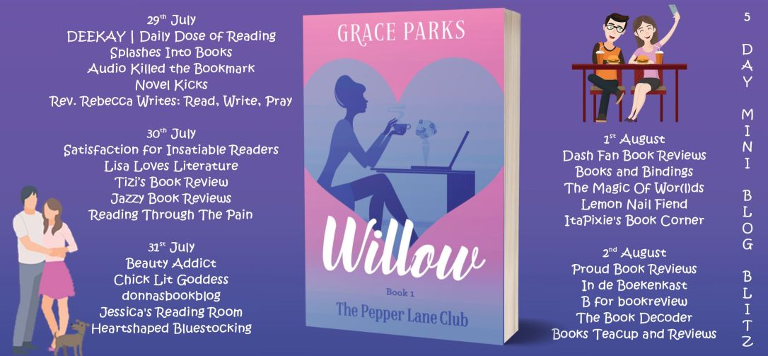 willow blog tour banner