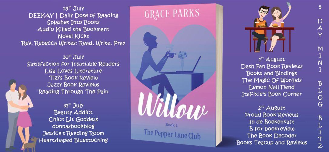 willow blog tour banner