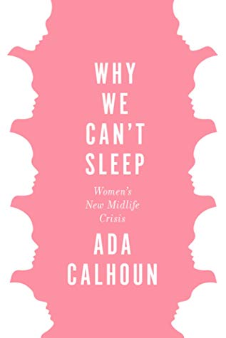 The cover of the book why we can't sleep is pink and white