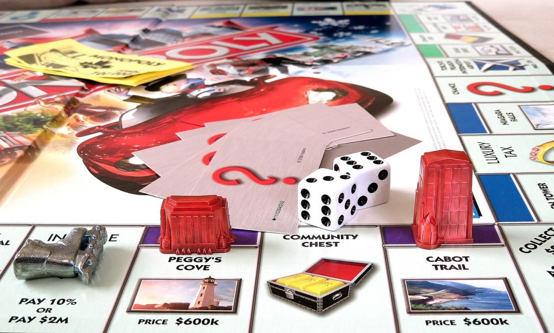 monopoly board game cco