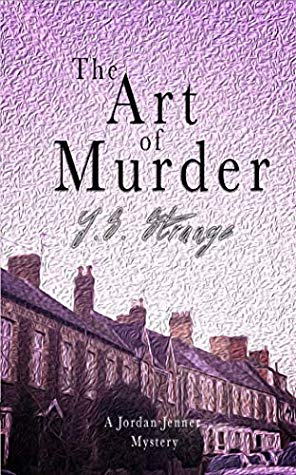 The cover for the Art of Murder is purple and shows a row of houses