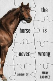 The cover for the Horse is Never Wrong shows a horse and a puzzle