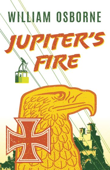 The cover of the book Jupiter's Fire