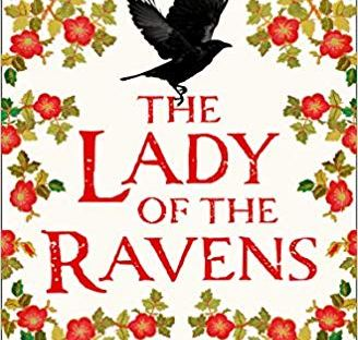 The cover for the book shows a raven and red flowers