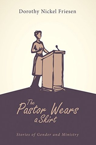 The cover of the book shows a silhouette of a woman standing at a pulpit