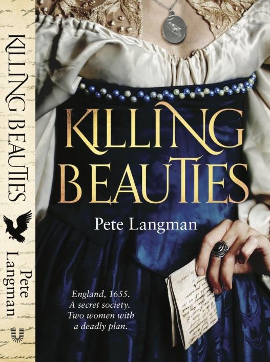 The book cover shows a woman in a blue dress holding a letter and wearing a locket