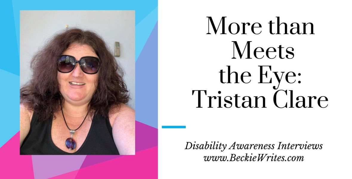 The banner shows the title for the article and a selfie that Tristan took of herself using the program Selfie X