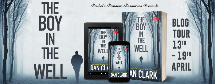 A banner shows the cover of the book and shows the dates for the blog tour